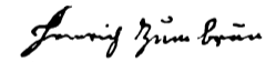 Heinrich's signature disavowing the pope.