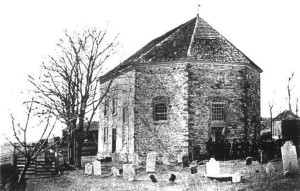 The old stone Zion Moselem Lutheran Church was built in 1761 when records show Heinrich was a member.