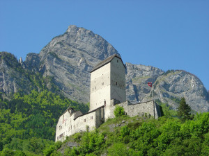 Another view of Sargans Castle