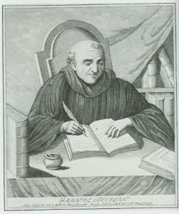 The Benedictine monk Gabriel Bucelin, who published a genealogy of the Zumbrunnen family in 1678