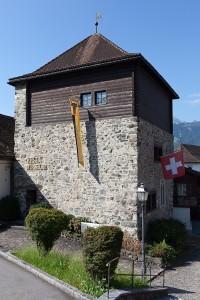 The museum of William Tell  in Uri, Switzerland