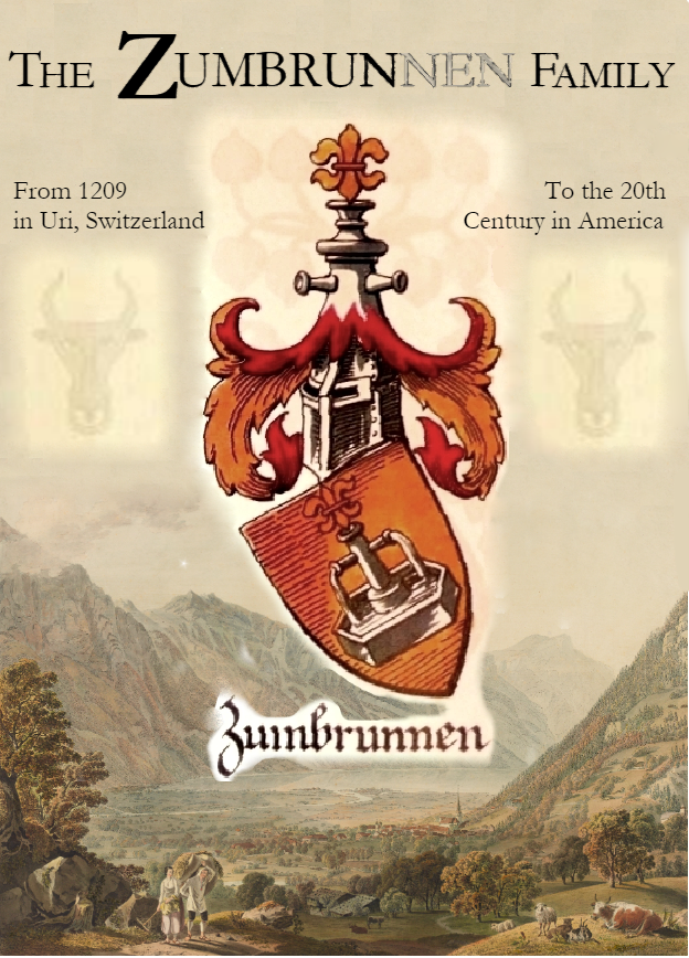 Zumbrun/Zumbrunnen Genealogy Book - Coming in 2021